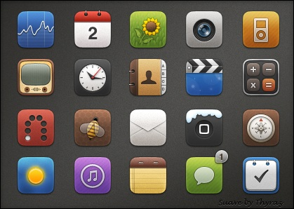 iconos iphone ipad