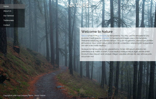 plantilla-dreamweaver-nature