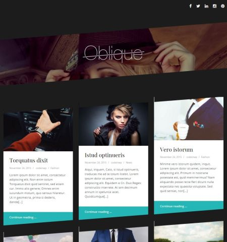 Oblique-tema-gratis-wordress