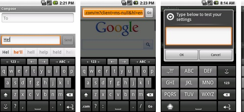anysoftkeyboard caracteres especiales android