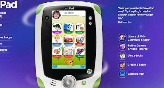 leapad tablet