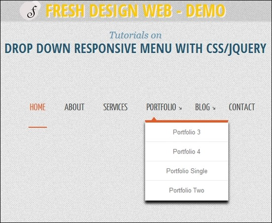 menu-drop-down-responsive