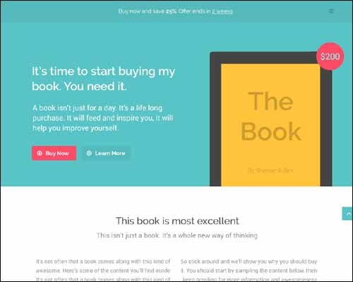 landing-pages-responsive-libros