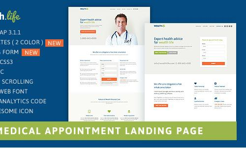 landing-pages-responsive-medico