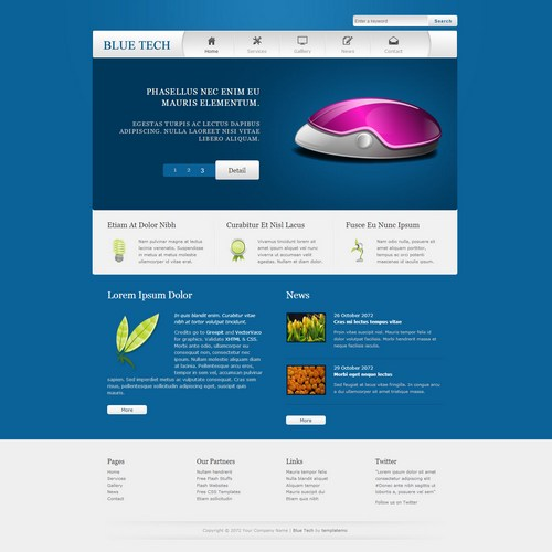 plantilla-dreamweaver-tecnologia-azul