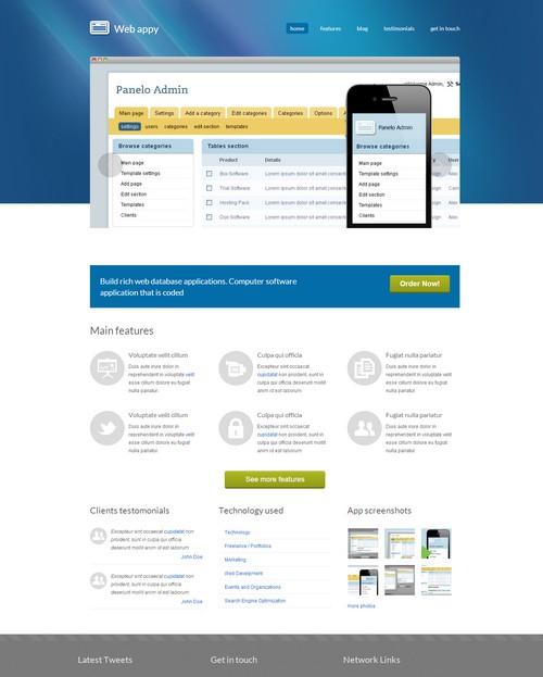 plantilla-dreamweaver-web-app