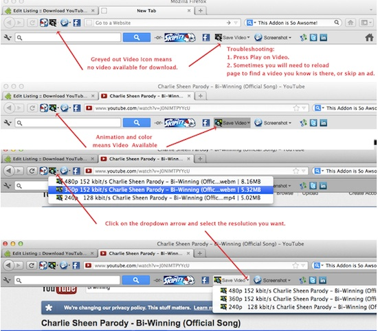 10 Mejores addons de Firefox para descargar vídeos de
