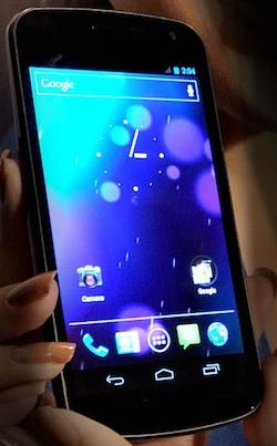 galaxy nexus con Android
