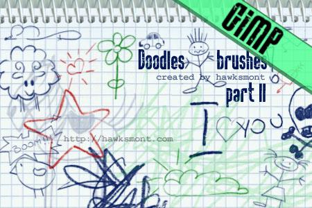 pinceles-gimp-doodles