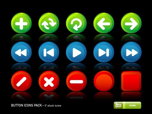 botones-psd-iconos