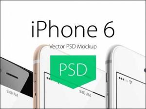 15 Mockups gratis para iPhone 6
