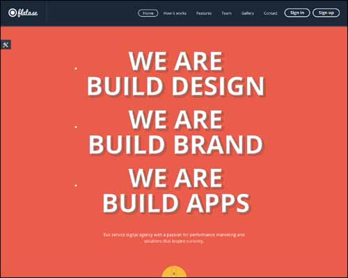 landing-pages-responsive-flates