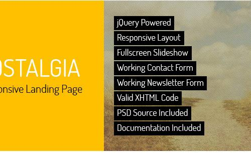 landing-pages-responsive-nostalgia