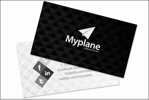 tarjetas-visita-psd-gratis-blancoynegro