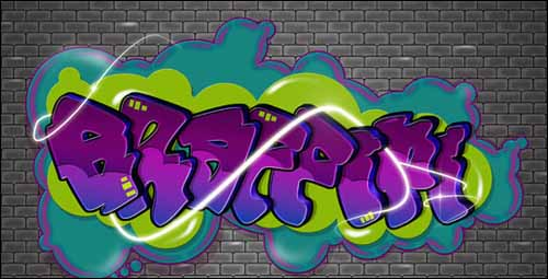 tutorial-illustrator-efecto-graffiti-texto