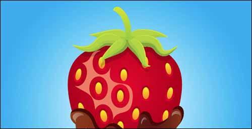 tutorial-illustrator-fresa-chocolate
