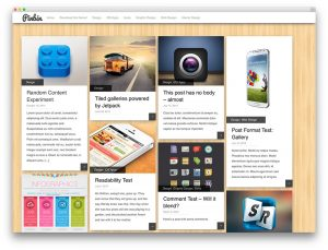 12 Temas WordPress al estilo Pinterest para portfolios, negocios y blogs