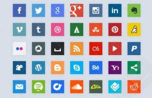 25 Bonitos botones para Redes Sociales HTML CSS