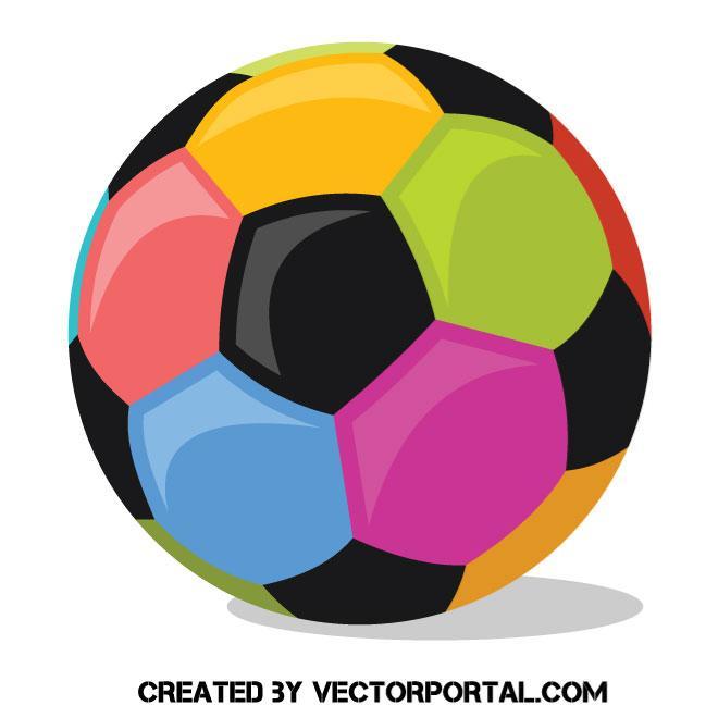 Balón de fútbol con diferentes colores - Vectores Gratis - WebGenio 03f7f26487a0f