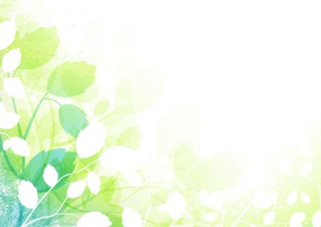 Fondo primavera con hojas y flores - Vectores Gratis - WebGenio