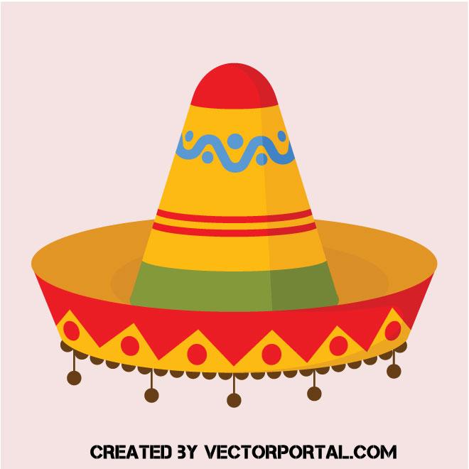 Sombrero mexicano de colores - Vectores Gratis - WebGenio 0508b1b5723