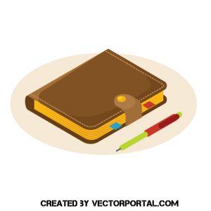 Ilustración de Agenda o diario personal